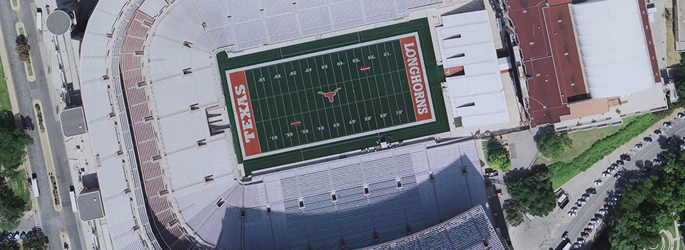 The University of Texas Darrell K Royal Texas Memorial Stadium
